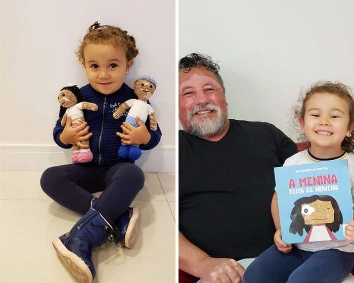 деца с изработените кукли