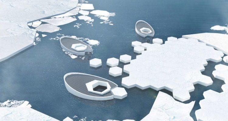 възстановяване на артическия лед