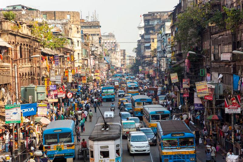 Колкота 15-то място по население в света