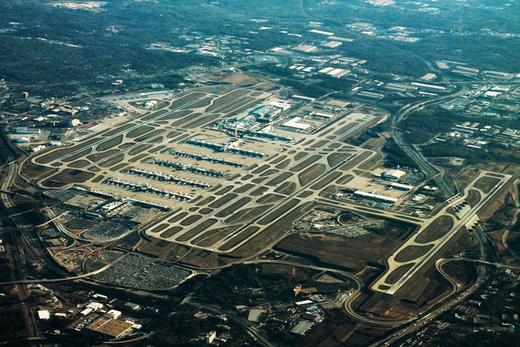 Най-голямото летище в света по пътнически трафик