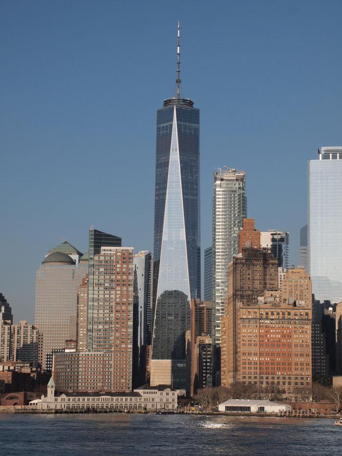 най-високата сграда в света 6 - Световен търговски център 1