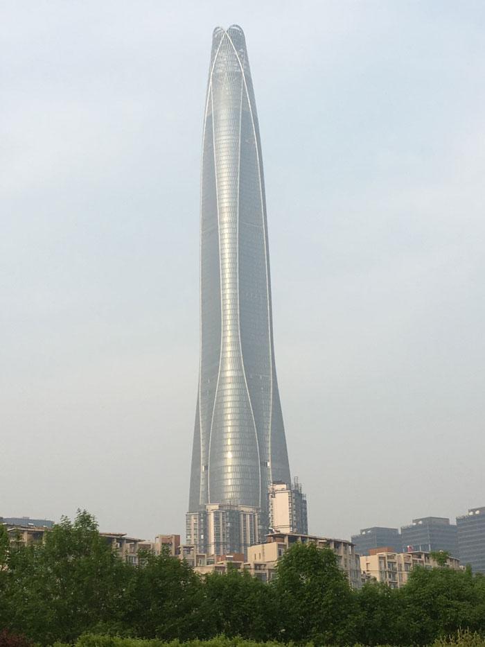 най-високата сграда в света 8 - Тиендзин CTF Финансов център