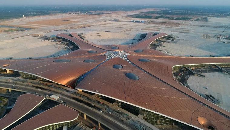 летище в китай
