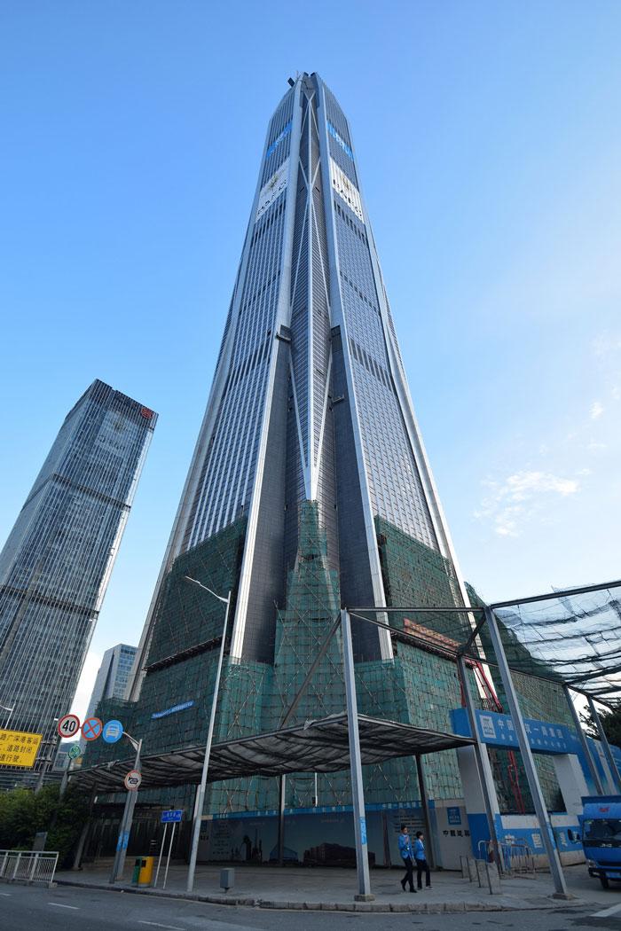 Ping AN Финансов център - най-високата сграда в света 4
