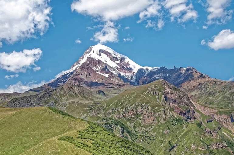 Най-високият връх в Европа №6, Казбек