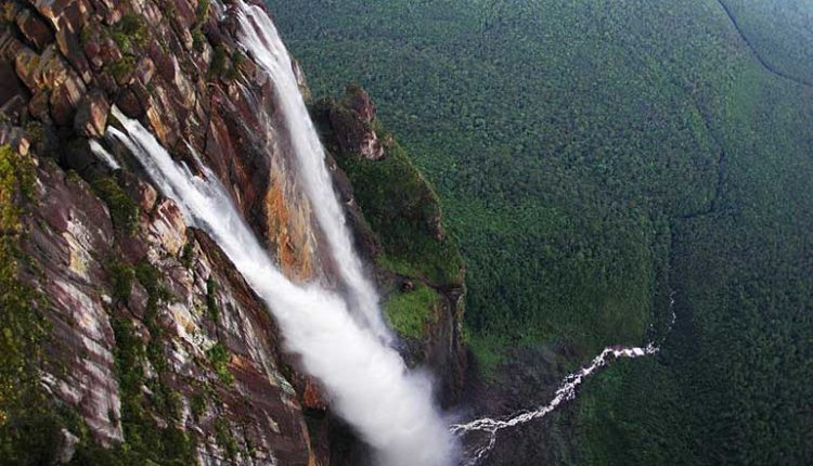 Най-високият водопад в света