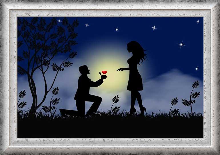 свети валентин Картина