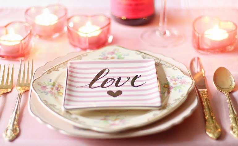 свети валентин романтична вечеря