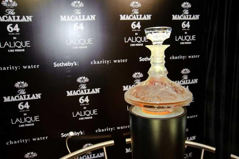 Macallan 64 B Lalique