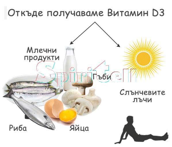 витамин д източник