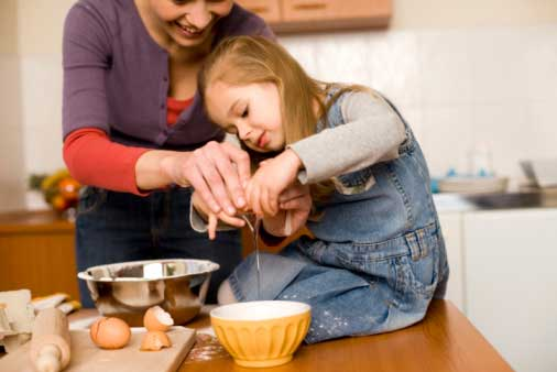 да направим сладки с мама
