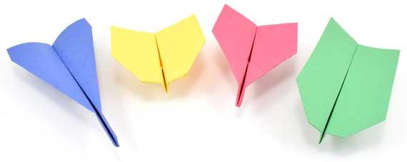самолети от хартия