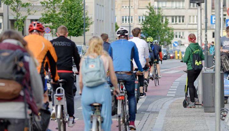 пътуване до работа с колело