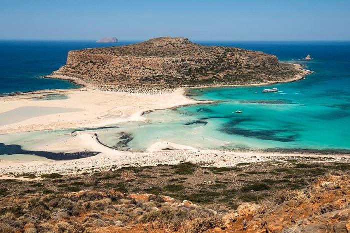 плажове в гърция - балос, крит