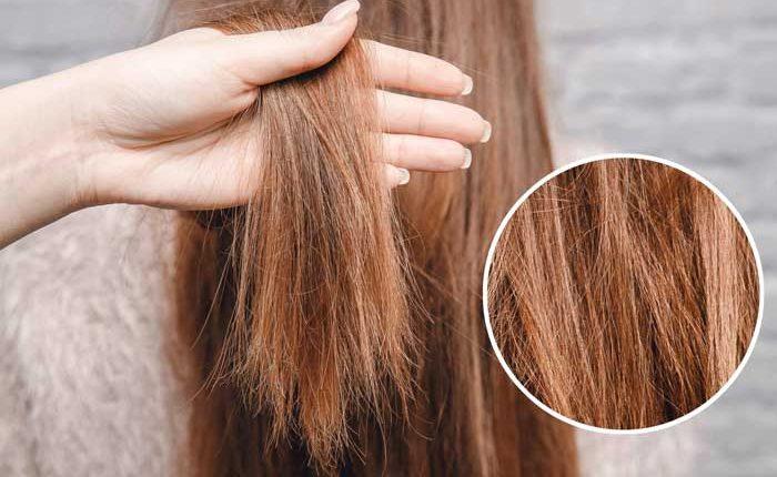 възстановяване на силно увредена коса