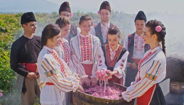 българско розово масло