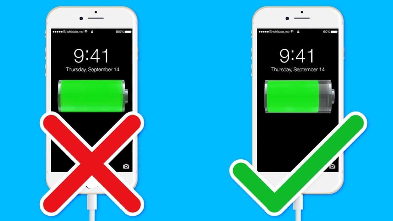 батерия 50% зареждане
