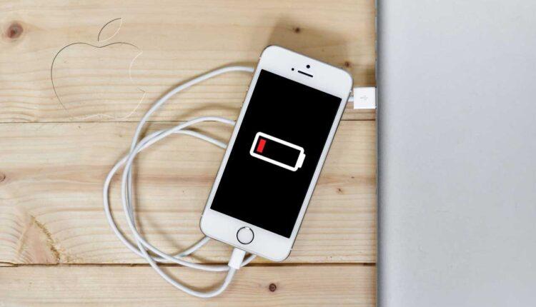 apple батерия зареждане