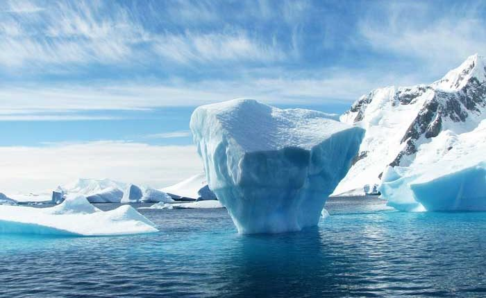 лед антрактида гренландия топене