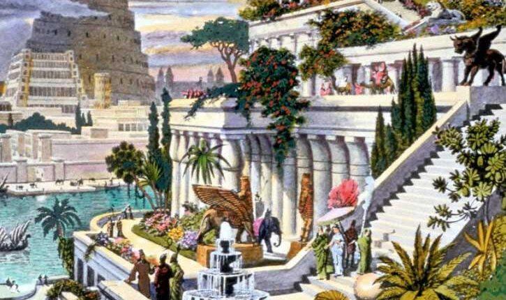 Висящите градини на Вавилон