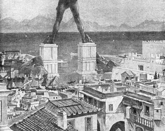 Родоски колос, седемте чудеса на света от древността