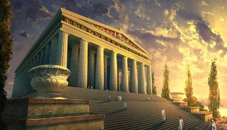 Храмът на Артемида в Ефес