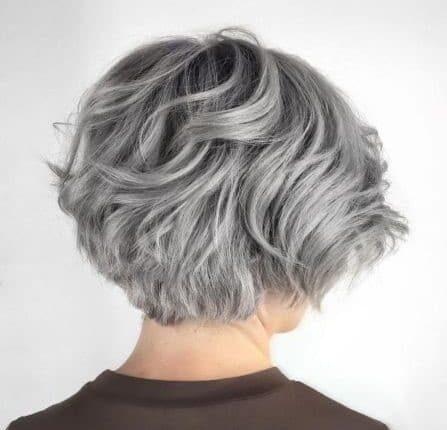 прическа за къса гъста коса