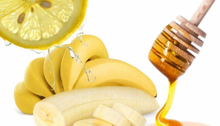 маска за коса с банан