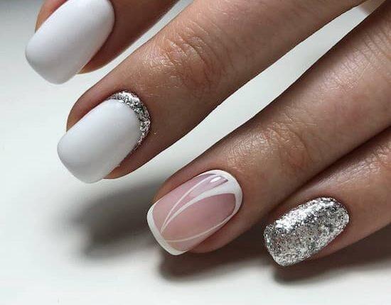 свежи предложения за маникюр за къси нокти